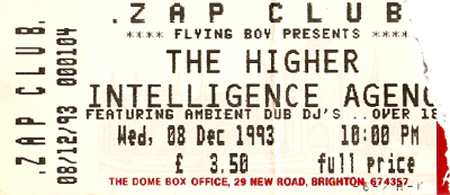 The Higher Intelligence Agency ticket