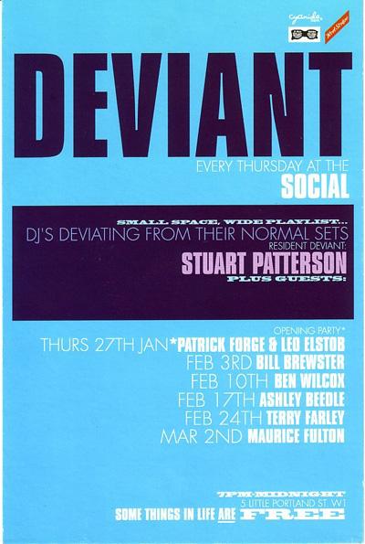 Deviant flyer 1999