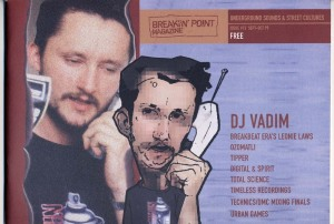 Breakin' Point magazine DJ Vadim 1999