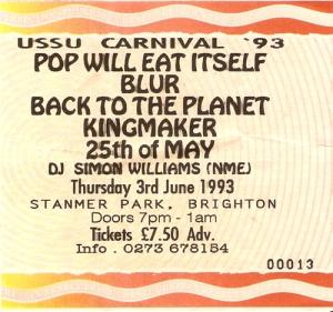 USSU Carnival '93 Brighton