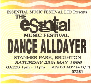 Essential Music Festival 1996