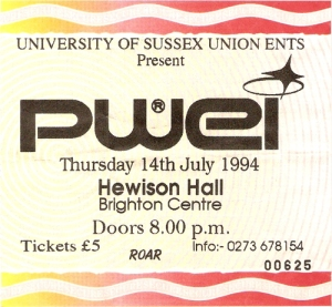 Pop Will Eat Itself, Hewison Hall, Brighton 14/07/94