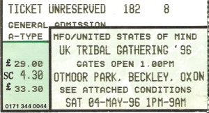 Tribal Gathering 1996