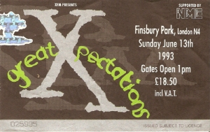 Xfm Great Xpectations June 13th 1993