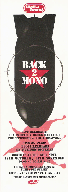 Back 2 Mono flyer