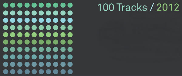 Bleep:: 100 tracks of 2012
